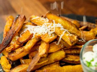 Baked Sweet Potato Fries -