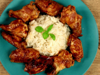 Dark Beer Chicken Wings -