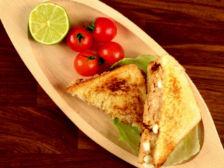 Tuna Egg Sandwich -