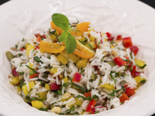 Crunchy Veggie Rice -