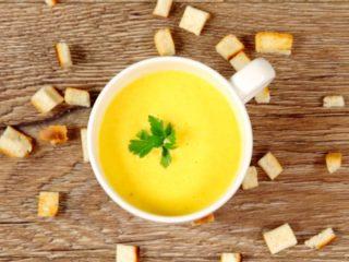 Creamy Veggie Soup -