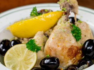 Chicken, Lemon and Olive Tagine -