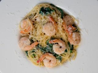 Creamy Shrimp Pasta -