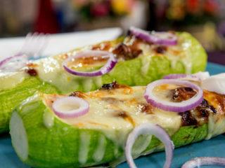 Chicken Zucchini Boats -
