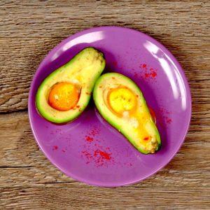 Avocado Twin Eggs -