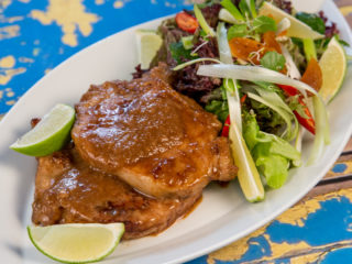 Pork Chops with Onion Sauce -