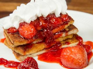 Strawberry Jam French Toast