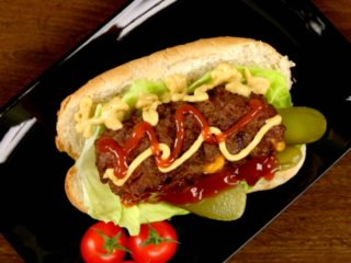 Cheddar Cheese Burgers -