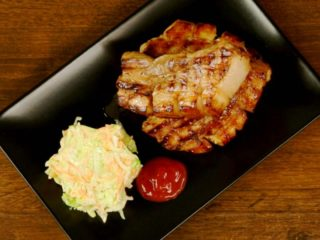 Ginger and Soy Sauce Pork Belly -