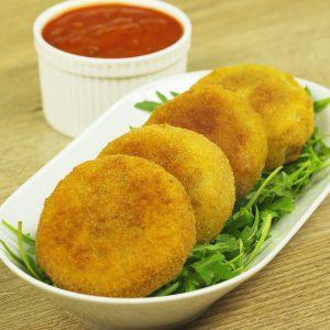 Cheeseburger Onion Rings -