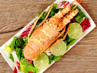 Butter and Lime Lobster -