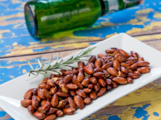 Roasted Rosemary Almonds -