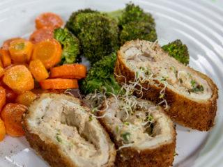 Cream Cheese Chicken Rolls -