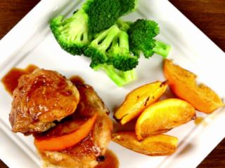 Orange and Butter Chicken -
