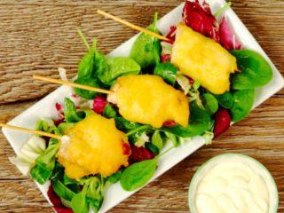 Sweet Chicken Skewers -