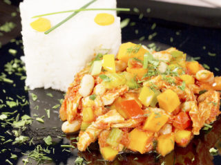 Chicken Stew with White Beans and Tomato Sauce -