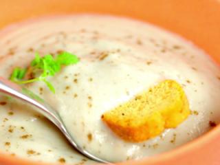 Mushroom Veggie Cream Soup -