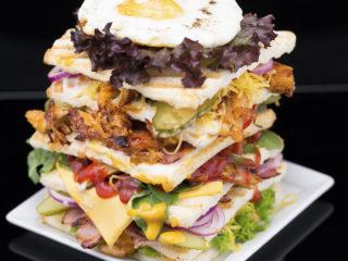 Turkey Tower Sandwich -
