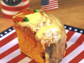 One Layer Carrot Cake -