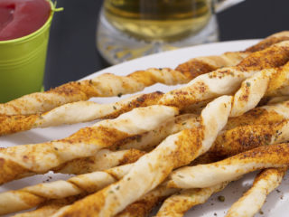 Spicy Pastry Twists -