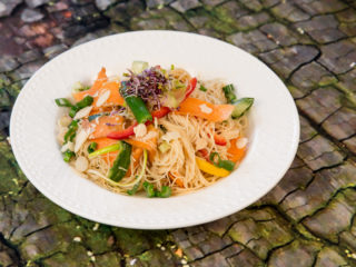Thai Rice Noodle Salad -
