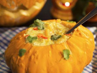 Spiced Pumpkin Soup -