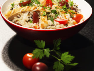 Chicken and Rice Salad -
