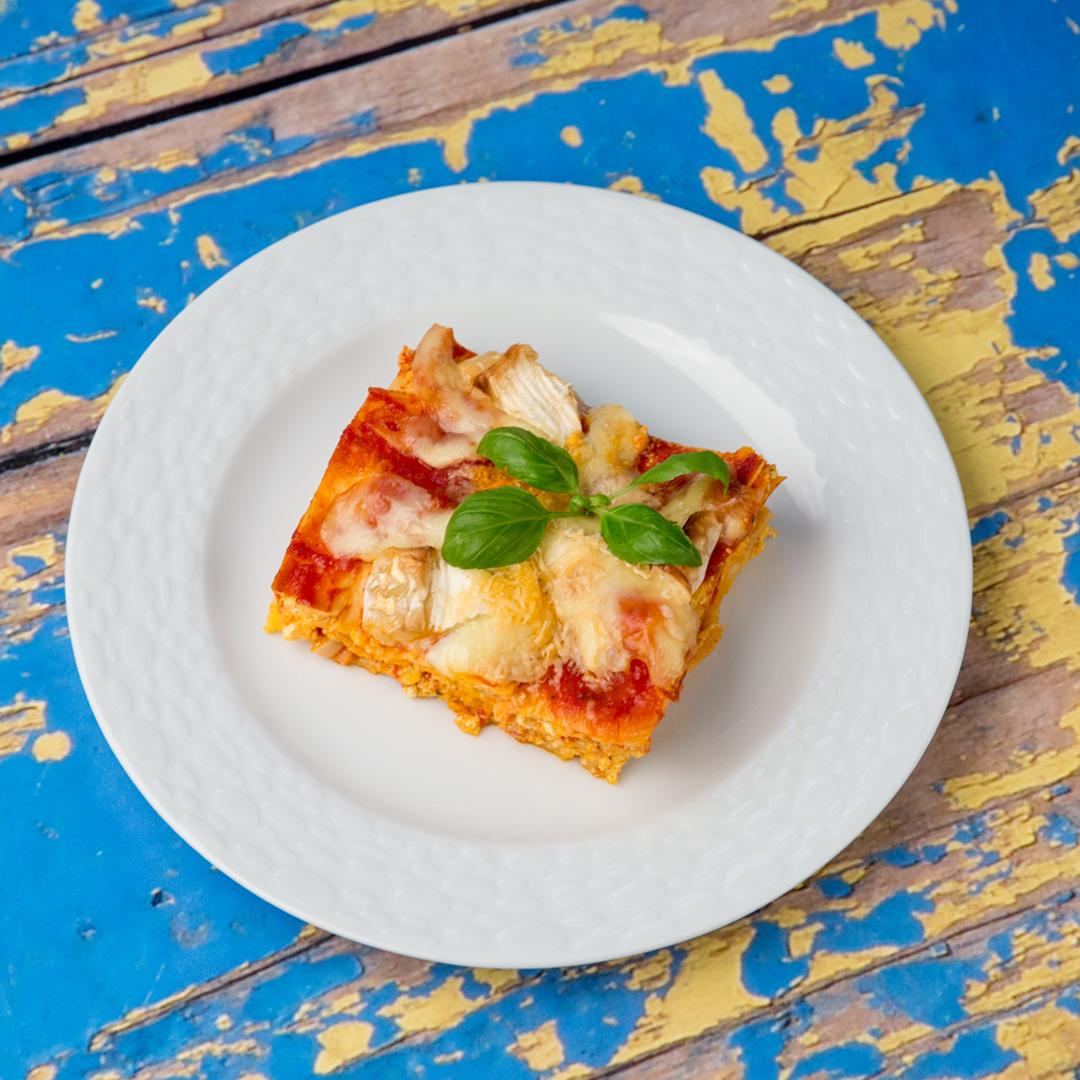 Ricotta and Camembert Lasagna -