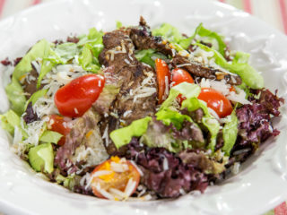 Beef and Rice Salad -
