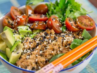 Tuna Rice Bowl -