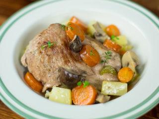 Pork and Veggie Tagine -