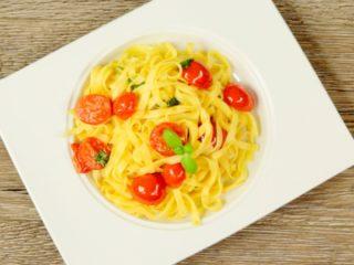 Cherry Tomato Tagliatelle -