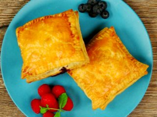Homemade Fresh Fruit Pastries -