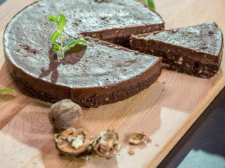 Vegan Chocolate Tart -