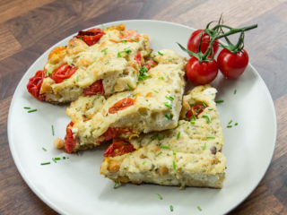 Cheese Bread Omelet -