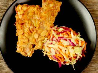 Almond-Crusted Pork Tenderloin -