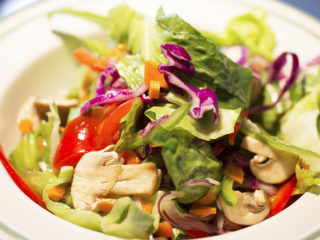 Easy-To-Make Mushroom and Veggie Salad -