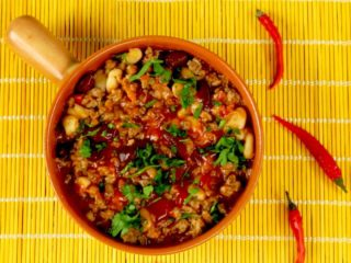 Tequila and Bean Chili -