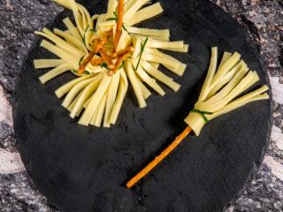 Cheese Pretzel Broomsticks -