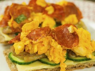 Scrambled Egg Sandwich -