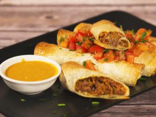 Ground Beef Tortilla Wraps -