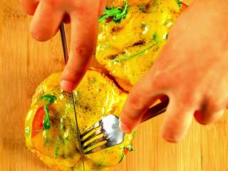 Avocado Cheddar Cheese Sandwich -