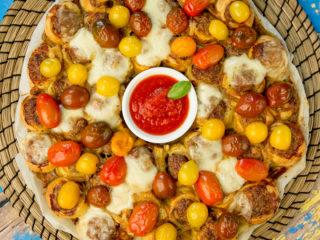 Meatball Pastry Pie -