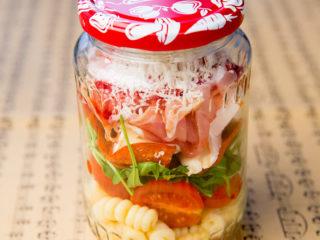 Prosciutto, Salami and Pasta Salad to Go -