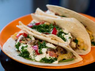 Vegetarian Tacos -