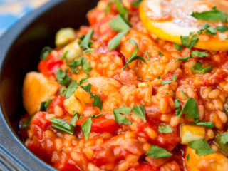 One Pot Chicken, Bacon and Rice -
