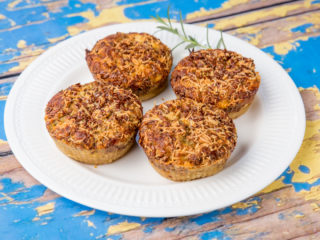 Celery Root and Ricotta Muffins -