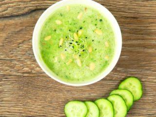 Cucumber Gazpacho -