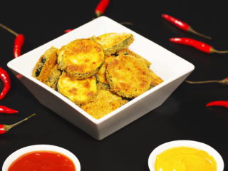 Oven Baked Zucchini Fritters -