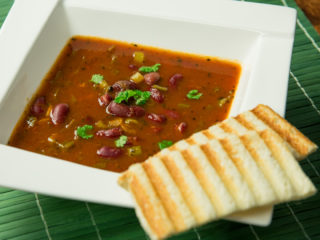 Tomato and Red Bean Soup -
